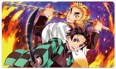 """Kimetsu no Yaiba"" Rubber Mats On Your Table! Tanjiro, Rengoku, And More Characters to Choose From!"