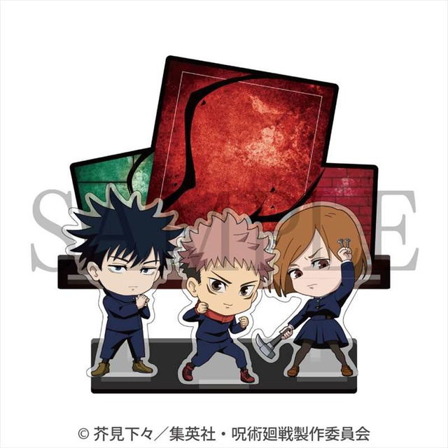 """Jujutsu Kaisen"" Yuji, Gojo, Nanami, etc. Acrylic Memo Stand That Can Be Written And Erased! All 5 types Of Lineup!"