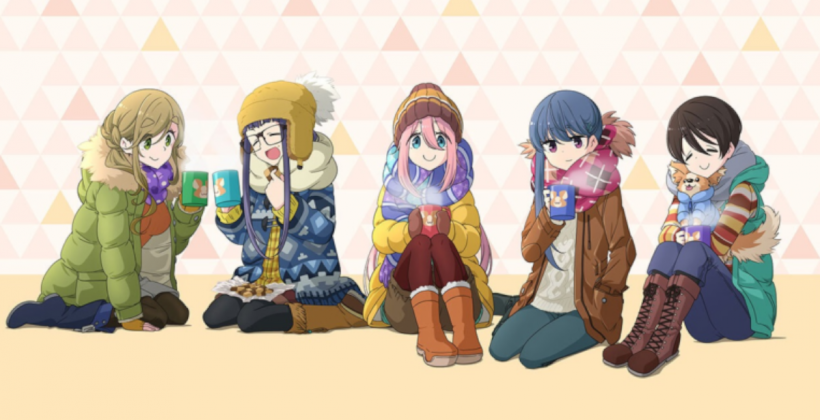 """""""Laid-Back Camp"""" is super interesting! 