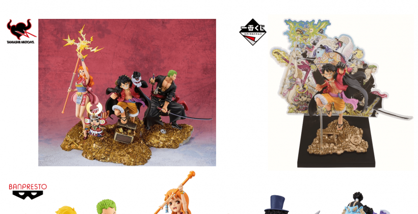 """In commemoration of the 100th volume of the manga """"ONE PIECE,"""" BANDAI SPIRITS will release a series of """"figures,"""" """"Ichiban Kuji Lottery tickets,"""" and """"amusement-only prizes"""" in October!"""
