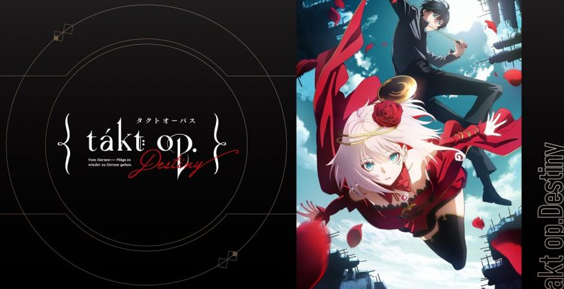"""MAPPA×MADHOUSE's TV animation """"takt op. Destiny"""" will start airing on October 5th (Tue)! Characters and PV revealed!"""