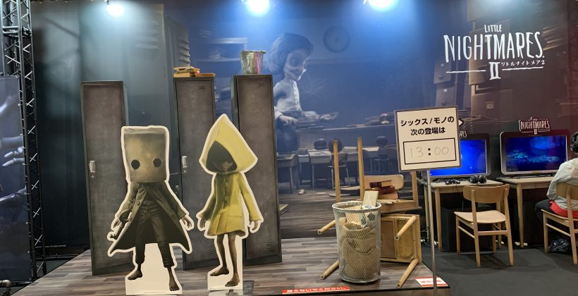 """Little Nightmares"""" Six and Mono have wandered into TGS! Photo report of the limited booth [TGS2021]."""